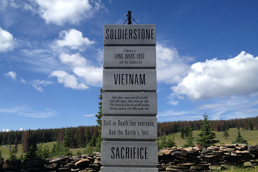 The Story Of Soldierstone A Mysterious War Memorial In